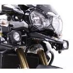 TIGER 1050 Sport: Denali DX Xtreme Spot Dual Intensity LED Lighting Kit with Full Wiring Harness and M8 Mount DENTT-DX